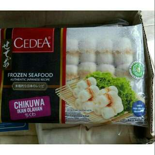 Chikuwa Mini Tray Isi 21 Pcs