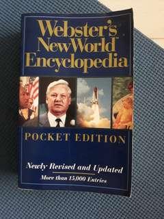 Webster's new world encyclopedia