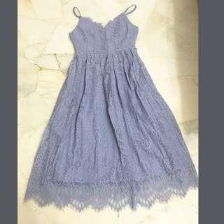 🆕Lacey sexy midi dress