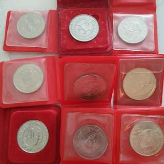 $10 Uncir Coins Various Designs