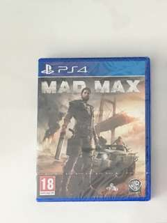 Brand New PS4 Game: Mad Max