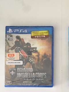 Brand New PS4 Game: Resident Evil Umbrella Corps