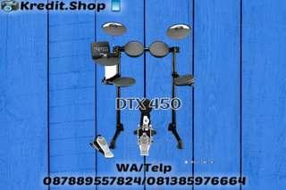 Drum Elektrik DTX 450 Cicilan Tanpa Kartu Kredit Cash/Kredit