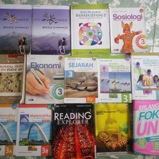 Buku Sekolah kelas XII .PENERBIT ERLANGGA kurikulum 2013