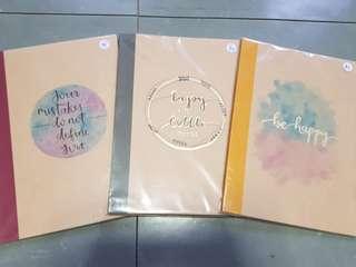 [SALE] [INSTOCK] A5 Designed Muji Notebooks