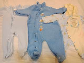 Baby Bodysuits for newborn up to 3 months