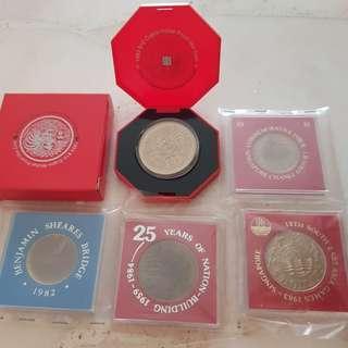 Rare 25 year Coin Sets