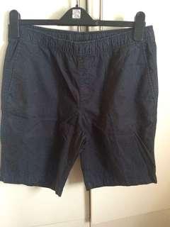 Uniqlo Navy Blue Shorts