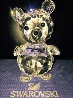 Swarovski 1987 Retired US and Canada Only King Bear