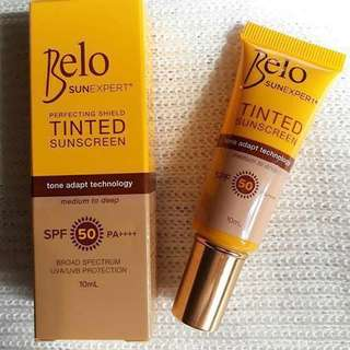 Belo Tinted Sunscreen 10ml (AVAILABLE unless stated otherwise)