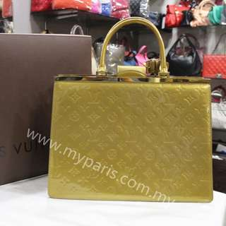 Louis Vuitton Monogram Vernis Deesse GM