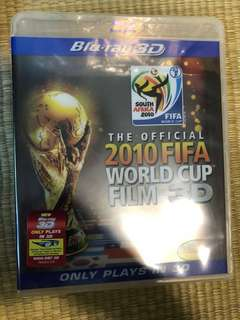 2010 fifa World Cup film 3D blu Ray new