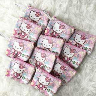 🚚 CUSTOM  COSMETIC POUCH hello kitty