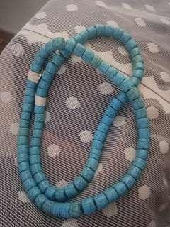 印度製天然松石串2條計