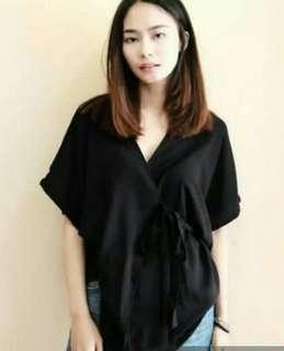 Shoptalene Kimono Tie Top