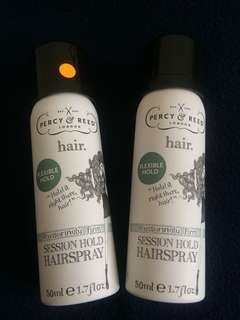 Percy & Reed Reassuringly Firm Session Hold Hairspray