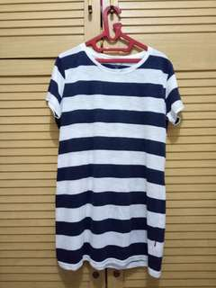 strip shirt/dress