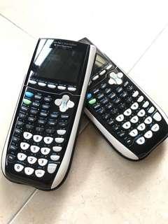 Graphic calculator T1-84 plus c silver edition