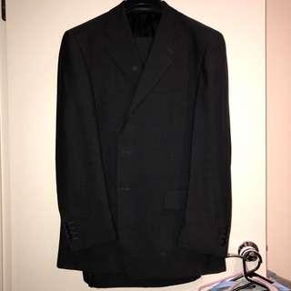 Men's Charcoal Suit