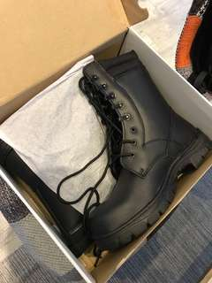 Scdf combat boots working boots