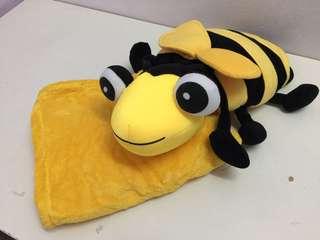 Ladybird bug with blanket