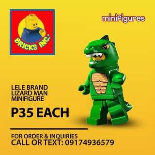 LELE™ Lizard Man CMS Minifigures