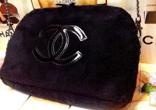 Chanel vip authentic bag with black chain