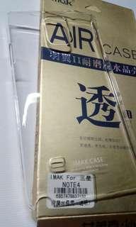 Samsung note 4 imak crystal case