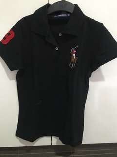 Preloved Black Polo