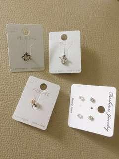 Korea surgical piercing earring