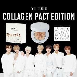 (READY STOCK) VT X BTS COLLAGEN PACT 11G #2