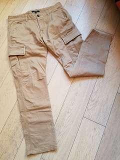 杏色長褲 軍褲