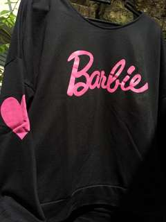 Barbie Sweater Black Pink