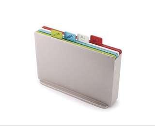 Joseph Joseph - Index Colour-coded chopping board set (Regular)
