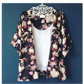 Floral Summer Kimono