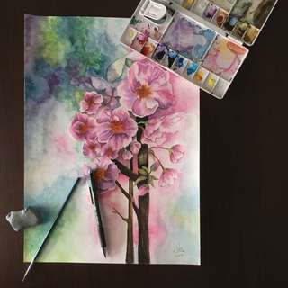 Floral Watercolour Painting #2