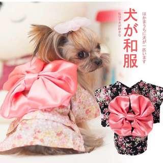 PO - Cats/dogs kimono