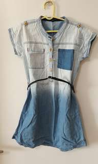 Periwinkle Denim Dress