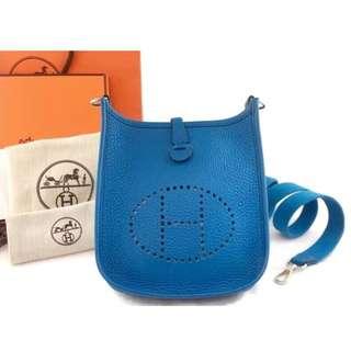 Authentic Hermes Mini Evelyne Bag