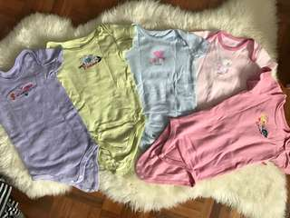 Baby Rompers 5 Set