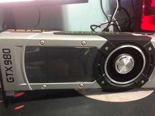Zotac GTX 980 4gb