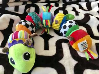 Repriced: AUTHENTIC Lamaze Mix and Match Caterpillar