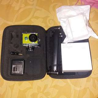 Xiaomi Yi (Action Camera / GoPro) with full accessoris