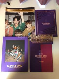 Wanna One Albums (Nothing Without You, I Promise You)