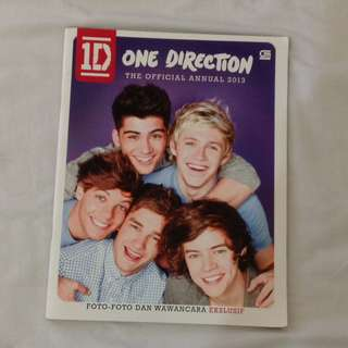 ANNUAL BOOK ONE DIRECTION