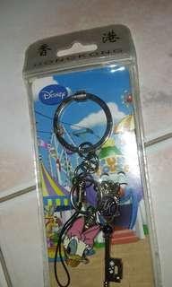 BNIP Hong Kong Disneyland Key Chain Daisy Duck