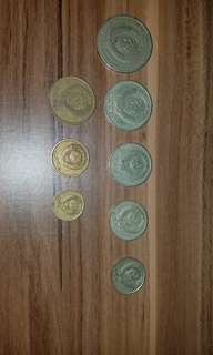 二戰蘇聯整套硬幣8枚