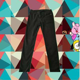 AUTHENTIC FOREVER 21 LOW WAISTED BLACK PANTS