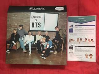 Mediheal x BTS Brightening Empty Box (with brochure)