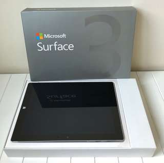 Microsoft Surface 3 Tablet